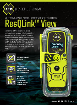 ResQLink View PLB-425 Spec Sheet
