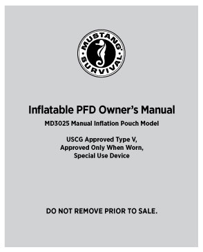 MD3025 Owner's Manual