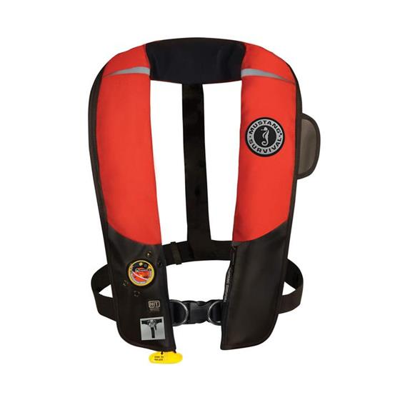 Mustang HIT inflatable PFD with Harness MD318402 - Red