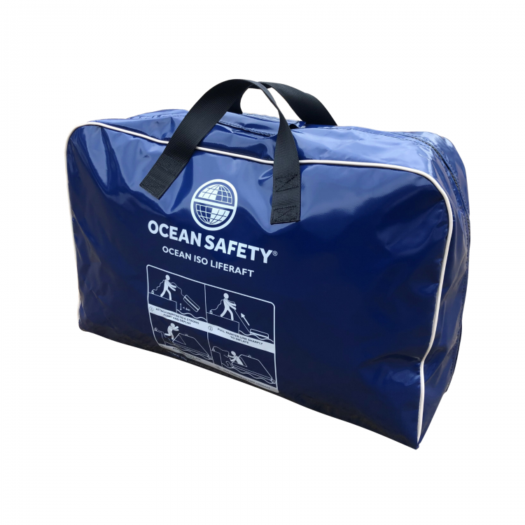 Ocean Safety ocean ISO liferaft valise