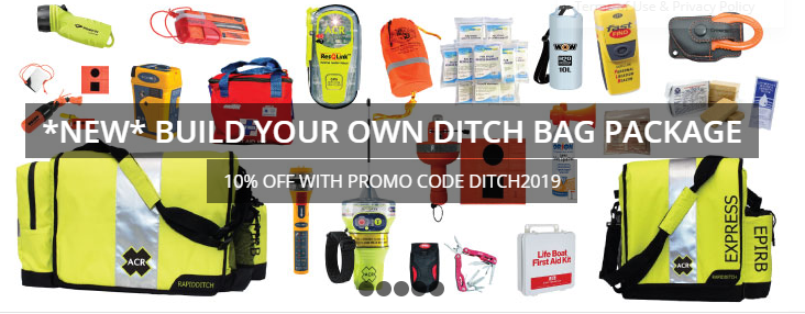 BUILD YOUR OWN DITCH BAG